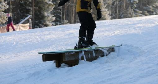 Pitkä hirsipressi /Lång flat logbox